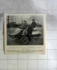 1905 Rex Motor Company Coventry Makes King Of Little Cars