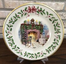 Lenox 1999 Winter's Warmth 9th Annual Holiday Collector Plate Christmas 10.3/4�