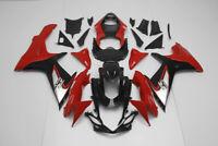 ABS Fairings Motorcycle Bodywork Kit for 2011-2016 Suzuki GSXR750 GSXR600 Red