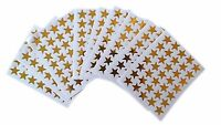 700 Reward Stickers Stars Gold Teacher School sticker Children Kids Wall Bedroom