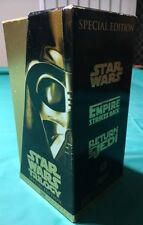 Star Wars Trilogy -VHS Box set -Gold Special Edition