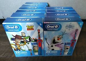 Choice Frozen or Toy Story Oral B Rechargeable Toothbrush w/ Toothpaste