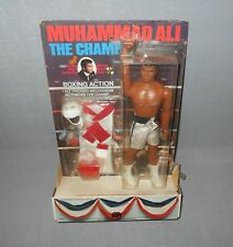 "1976 MEGO MUHAMMAD ALI 9"" ACTION FIGURE WITH BOXING RING CARD (MIP)"