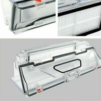 Dust Box + HEPA Filter Replacement for Xiaomi Mi Roborock Vacuum Cleaner Bin BM