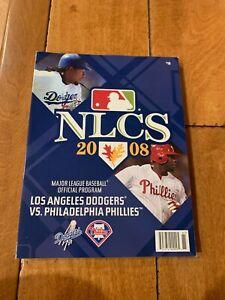 2008 NLCS Program - Philadelphia Phillies vs. LA Dodgers CHAMPIONSHIP SERIES