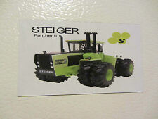 STEIGER PANTHER III Fridge/tool box magnet