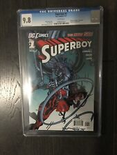 SUPERBOY # 1 / The new 52! / CGC Universal 9.8 / January 2011