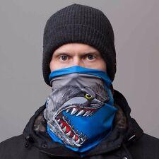 2016 NWT MENS CELTEK HANGOVER FACEMASK $20 Shark Attack two layer tube