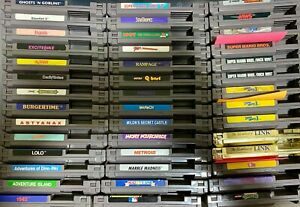 Nintendo NES Games - Refurbished and Tested To Work