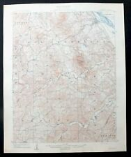 Saint Genevieve Missouri Antique 1909 USGS Topo Map Weingarten Topographic