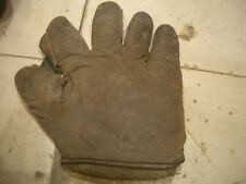 CIRCA 1900's (1900-1910)  ANTIQUE DRAPER & MAYNARD BASEBALL GLOVE WITH LABEL!!
