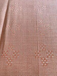 Vintage Table Cloth & 4 Napkins. Indanthren Linen. In Original Box. 125 X 132cm