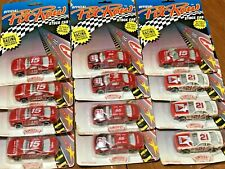 Lot of 12- OFFICIAL PIT ROW NASCAR STOCK CARS 1/64 FORD THUNDERBIRDS 1992 NEW