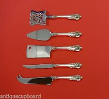Grande Baroque by Wallace Sterling Silver Fruit & Cheese Serving Set 5pc Custom