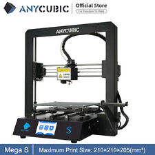 CA Stock Anycubic MEGA-S 3D Printer Upgrade High Precision + 10m PLA filament