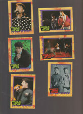 Lot of 6 New Kids on the Block trading cards Published 1989