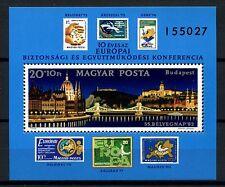 Hongrie 1982 SG #MS 3507 sécurité & co-op conf. NEUF sans charnière m / s #A 53049