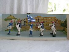 toy soldier- Greek (8)- Aohna- mint set- box included