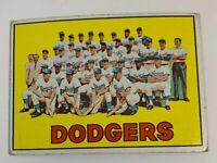 1967 Los Angeles Dodgers Team # 503 Topps Baseball Card LA