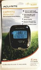 ACURITE LIGHTNING DETECTOR WITH ESTIMATED STRIKE DISTANCE UP TO 25 MILES NEW!