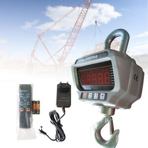 3000KG/6600LBS Digital Crane Scales Hanging Scale Electronic Scales Heavy Duty