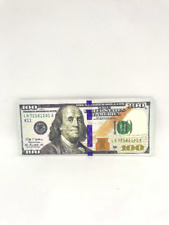 THE NEWEST HUNDRED 100 DOLLAR BILL WALLET BIFOLD ULTRA THIN CANVAS GIFTY UNIQUE