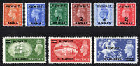 KGVI 1939 KUWAIT Set Surcharge on GB stamps SG 84-92. Sc 93-101. Cat £110  MNH