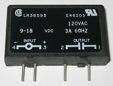 Crouzet Solid State Relay - 120 V AC - 3 A -  M-0AC15 - Inline Package - 9-18VDC