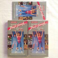 Nutri System Body Breakthrough Activity Plan VHS Video Fitness Aerobics Exercise