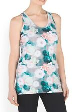 NWT MPG Women's Athletic Running Active Floral Tank Top Multi Color Small