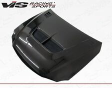For IS250/350 06-13 Lexus 4d Cyber VIS Racing Carbon Fiber Hood 06LXIS34DCY-010C