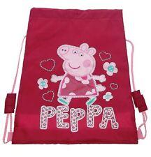 Official Peppa Pig Hopscotch Library Swim Sports PE Gym Drawstring Trainer Bag