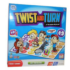 TWIST AND TURN GAME FAMILY BOARD TWISTER TOY PARTY MOVES KIDS GIFT MAT FRIENDS