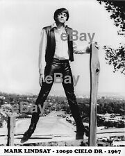 Mark Lindsay (formerly Paul Revere Raiders) AUTOGRAPHED 8x10 Pic '67 Cielo Drive