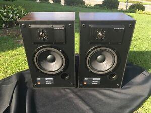 JBL 62 Speakers - Vintage Bookshelf Studio Monitors Excellent Condition