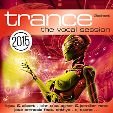 CD Trance The Vocal Session 2015 from Various Artists 2 CDs