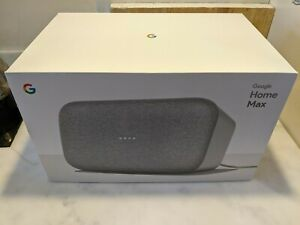 Google Home Max chalk boxed, excellent condition