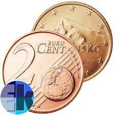 Ek // 2 Cent Slovaquie # Pièce Nueve : Sélectionnez une Année :