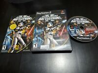 Star Wars: Battlefront II (Sony PlayStation 2, 2005) CIB! TESTED W/ REGISTRATION