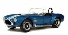 SOLIDO S1850017 - AC Shelby Cobra 427 MK II - 1965 Bleu / Blanc  1/18