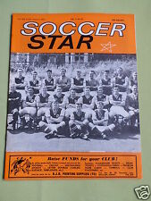 SOCCER STAR - UK FOOTBALL MAGAZINE - 3 AUG 1963 - COVER PIC - ASTON VILLA