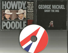GEORGE MICHAEL Shoot the Dog w/ REMIXES & VIDEO Europe CD Single USA seller 2003