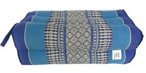 Yoga Bolster Rectangular Natural Thai Kapok Soft Block Meditation Cushion Pillow
