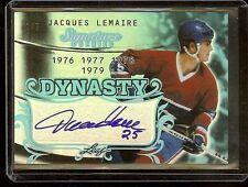 Jacques Lemaire Leaf Signature Series Autograph Auto #1/5 - Montreal Canadiens