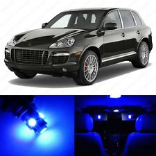 21 x Blue LED Interior Light Package For 2003 - 2010 Porsche Cayenne + PRY TOOL