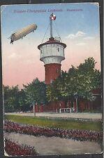 Reich 1915 cens Zeppelin PPC Lockstedter to Beverwijk