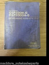 Okuma CNC OSP500M-G OSP5000M-G Programming Manual 4th Edition Machining Center