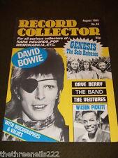 RECORD COLLECTOR #48 - GENESIS - WILSON PICKETT - AUG 1983