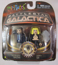 Battlestar Galactica - Minimates - Vice President Baltar and Caprica Six - NEW!