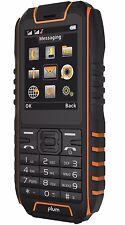 Rugged Cell Phone Unlocked GSM Water Proof IP68 Certified Dual Sim  E400 Orange